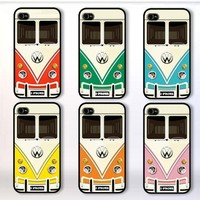 Choose your style VW Bus : Case For Iphone 4/4s ,5 /Samsung S2,3,4
