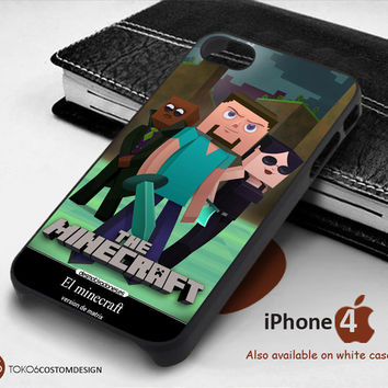 Steve The Minecraft for iPhone 4/4S, iPhone 5/5S, iPhone 6, iPod 4, iPod 5, Samsung Galaxy Note 3, Galaxy Note 4, Galaxy S3, Galaxy S4, Galaxy S5, Galaxy S6, Phone Case