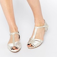 ASOS | ASOS JENNA Satin Two Part Shoes at ASOS