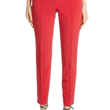 Yigal Azrouël Crop Bi-Stretch Pants | Nordstrom