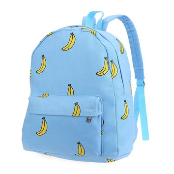 Cool Fun Blue Banana Backpack 20-35litre