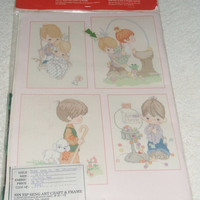 Precious Moments Your Love Is So Uplifting Counted Cross-Stitch Pattern Kit PMR1 1993 Gloria and Pat Designs Needlecraft New and Sealed