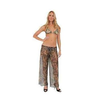 Camo Pants Cover-Up