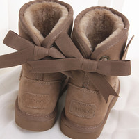 """BIBAO"" Women male Fashion Wool Snow Boots"