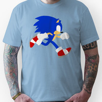Sonic the Simplistic Hedgehog  Unisex T-Shirt