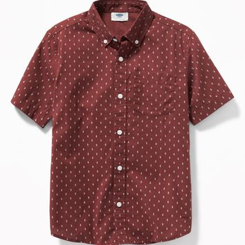Classic Built-In Flex Printed Shirt for Boys | Old Navy