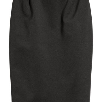 Pencil Skirt - Khaki green - Ladies | H&M US