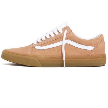 Double Light Gum Old Skool Sneakers Apricot Ice