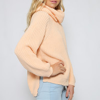 Power Up Knit - Peach