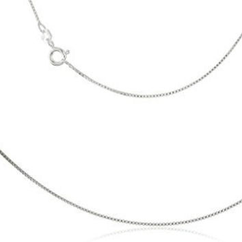 Shop Sterling Silver Necklace Chain 925 Italy on Wanelo