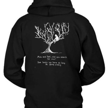 Pierce The Veil Hold On Till May Lyrics Hoodie Two Sided