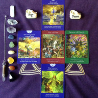 5 Card Cross of Truth Reading, Tarot Reading, Angel Card Reading, Seek Truth, Psychic Advice, Accurate and in-depth, video or email reading