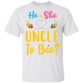 Gender Reveal Pink Or Blue What Will It Bee He Or She Uncle