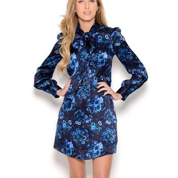 Galliano Silk Floral Tunic - Made in Europe - Galliano Dresses & More - Modnique.com