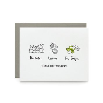 Wild Ink Press - Things That Multiply Card