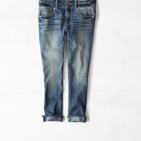 AEO 's Artist Crop Jean (Medium Wash)