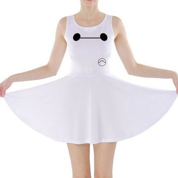 Baymax Big Hero 6 Inspired Skater Dress