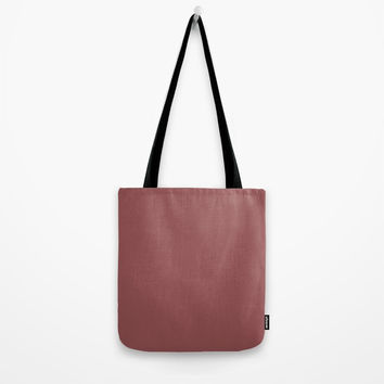 Marsala Tote Bag by spaceandlines