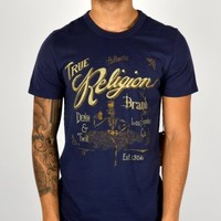 True Religion Whiskey T-shirt - Navy