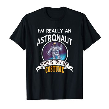 Astronaut Halloween Costume T-shirt This Is Just My Costume