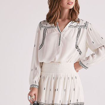 Smocked Skirt | Lucky Brand