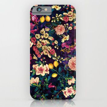 NIGHT FOREST XXII iPhone & iPod Case by Burcu Korkmazyurek