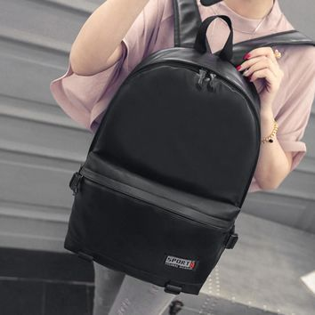 2017 Designer Men Backpacks Pu Leather Rucksack School Bag For Teenagers Black Women Backpack Travel Bolsas Mochila Feminina B25