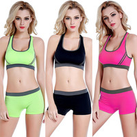 Sports Bras and Stretch Shorts