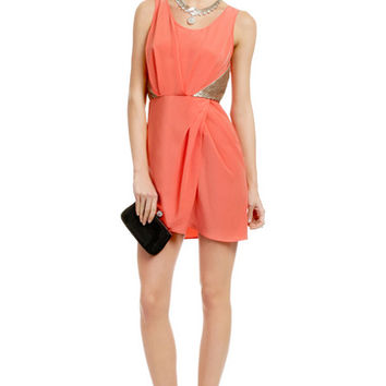Sachin + Babi Neon Nightlife Dress