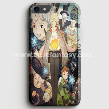 Studio Ghibli Howl'S Moving Castle iPhone 7 Case | casefantasy