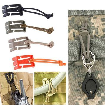 ONETOW ITW webbing Molle Attach Web Backpack bushcraft Strap Hang Buckle Webdom travel kit Clip Military Outdoor Camp Hike carabiner