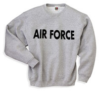 Air Force Sweatshirt - Letters | Military.com Apparel and Gear Store