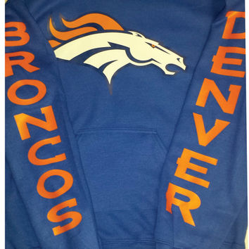 Broncos  Unisex Hoodie ,Denver Colorado  nfl  football S-5XL sizes