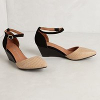 Lovins Wedges by Jeffrey Campbell Neutral Motif 6.5 Wedges