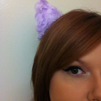 Lolita Clip In Cat Ears - Kawaii - Kitten Play - Furry - Hair Bow - Kitty - Costume