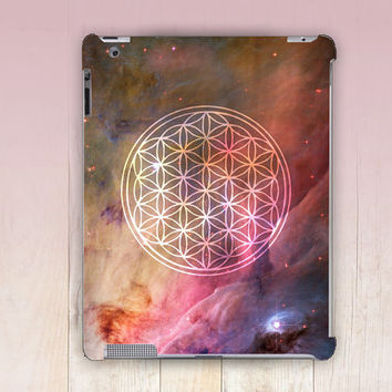 Flower of Life iPad Case For - iPad 2, iPad 3, iPad 4 - iPad Mini - iPad Air - Mandala