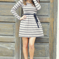 Better Things To Do Dress: Black/Grey | Hope's
