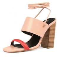 HESTER SS PINK MULTI LEATHER