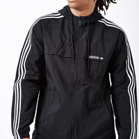 adidas 3-Stripes Zip Windbreaker at PacSun.com