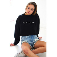BABYGIRL Sweatshirt Sweater for Women Gift 156