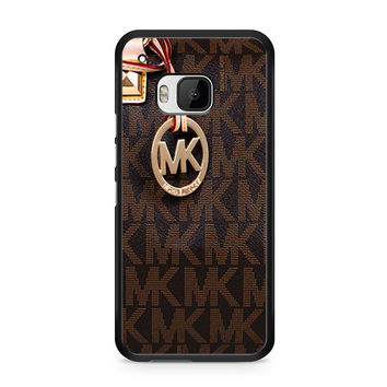 Michael Kors Logo Brown iPhone 5C HTC One M9 Case