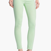Vince Colored Ankle Skinny Stretch Jeans (Light Mint) | Nordstrom