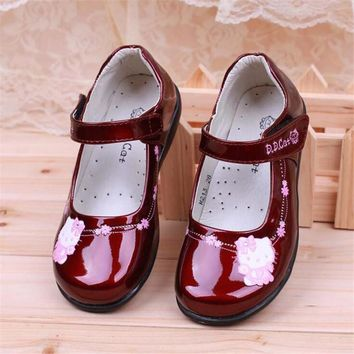 25% Girls shoes hello kitty children's performance shoes  princess dress shoes school Students children's shoes 25-39 TX03