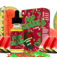 Watermelon Candy - Pop Clouds E Liquid