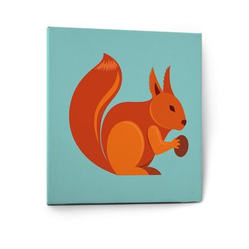 Cute Animals Pictures Series Canvas Wall Art Painting Prints Decor Squirell