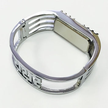 Elegant Silver Color Metal Bracelet For Fitbit Flex