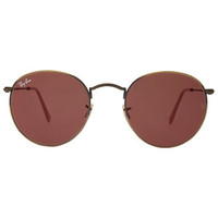 Ray-Ban Sunglasses, RB3447 50 ROUND METAL | macys.com