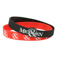 Of Mice & Men Bones Exposed Rubber Bracelet 2 Pack