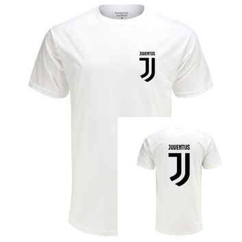 Eqmpowy T Shirt Men'S Lastest 2016 Fashion Short Sleeve Juventus Printed T-Shirt Funny Tee Shirts Hipster O-Neck Cool Tops