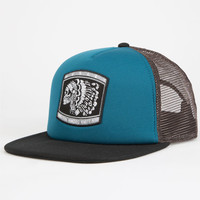 Hurley All Day Mens Trucker Hat Teal Green One Size For Men 24892351201